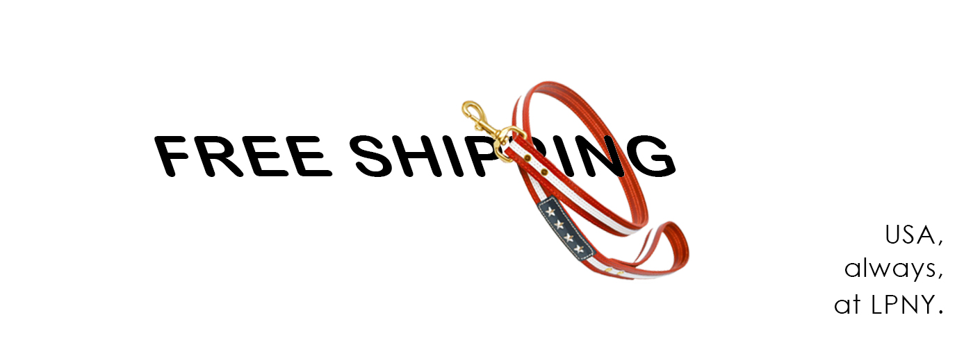 Free Shipping! All Orders at LPNY