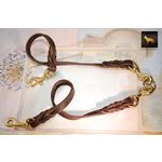 Love Knot Coupler II Leather Leash 2