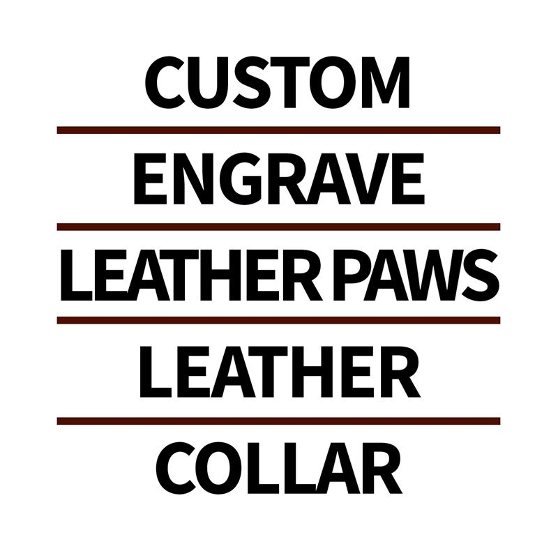 Custom Engraving For Collars, Leashes, or Harnes 2